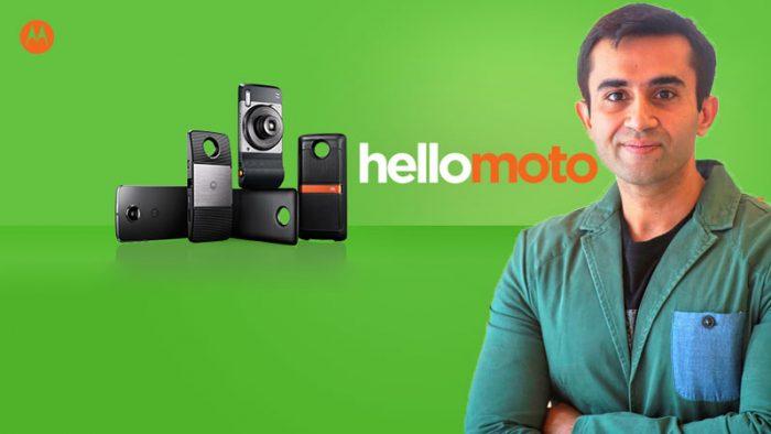 [Interview] Simran Dhindsa on Motorola's iconic comeback with #HelloMoto