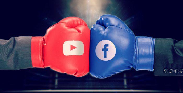 Facebook v/s YouTube
