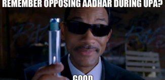 Aadhar Memes