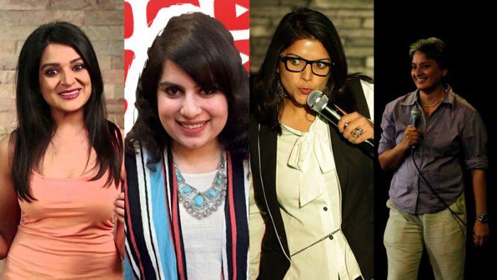 women standup comedians