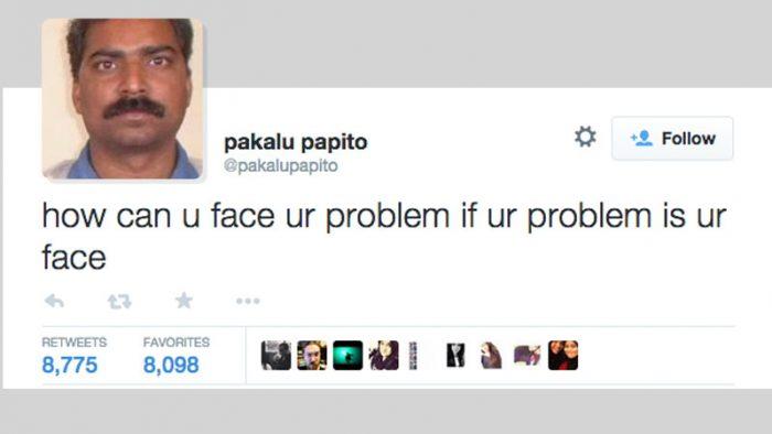 Pakalu Papito tweets