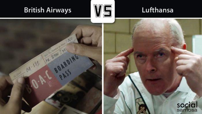 British Airways v/s Lufthansa