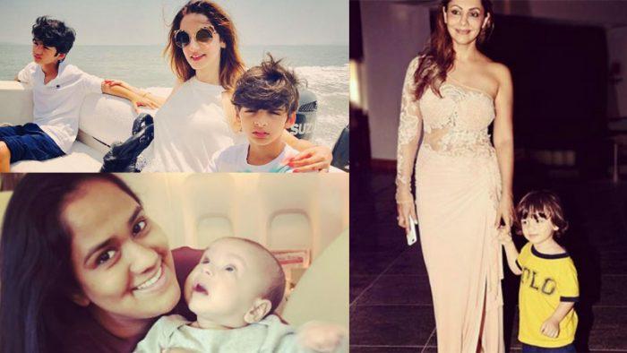 Celebrity mothers on instagram