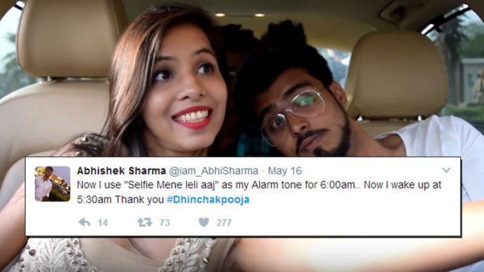 #DhinchakPooja memes