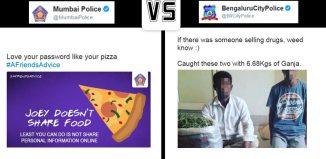 Mumbai Police v/s Bengaluru City Police