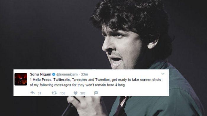 Sonu Nigam quits Twitter