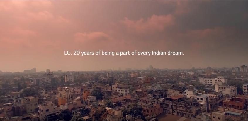 LG celebrates 20th anniversary with a heartfelt story - Social Samosa