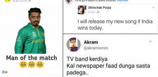 #IndVsPak memes