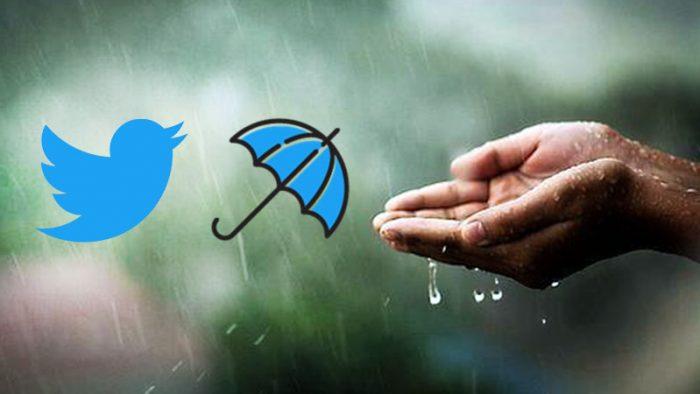 Twitter Umbrella Emoji