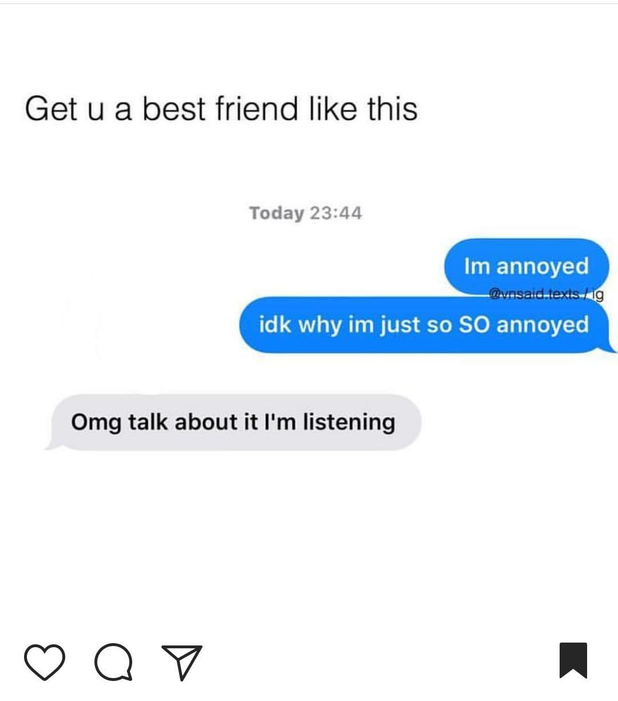 BFF conversations