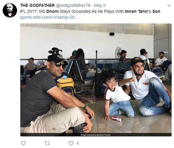 Dhoni's greatest social media moments