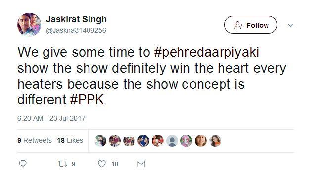 #PehredaarPiyaKi