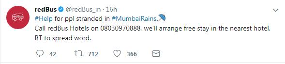 redBus - MumbaiRains