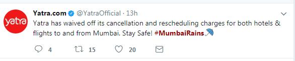 Yatra Mumbai Rains