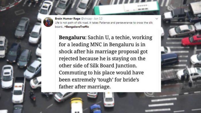 #BangaloreTraffic