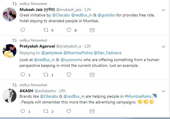 Twitteratis Mumbai Rains