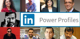 LinkedIn India Power Profiles 2017