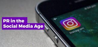 PR in the social media age