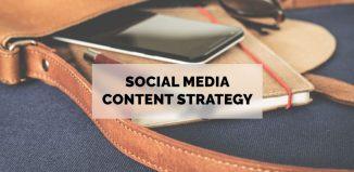 social media content strategy
