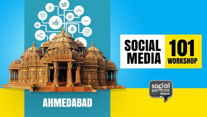 Social Media 101 workshop in Ahmadabad
