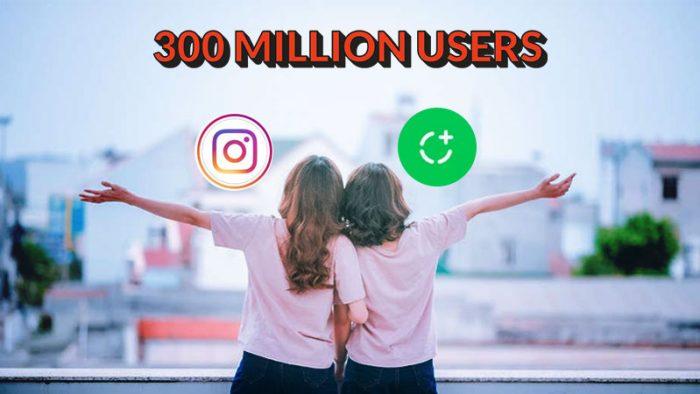 300 million users