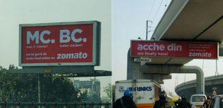 Zomato OOH Campaign