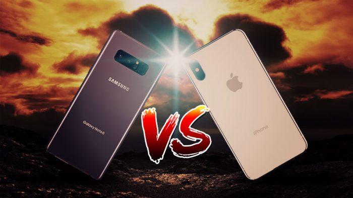 Samsung v/s Apple campaigns