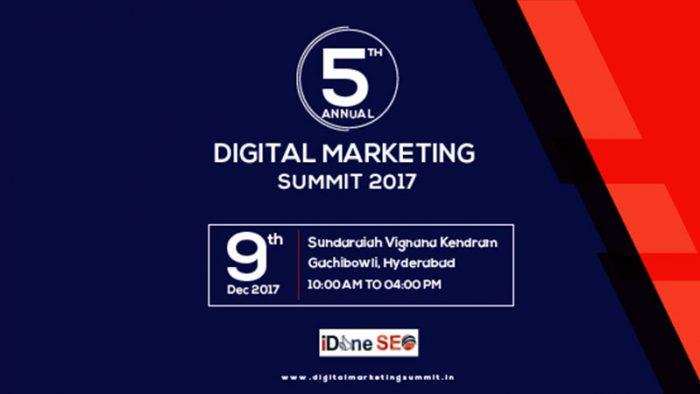 5th Annual Digital Marketing Summit