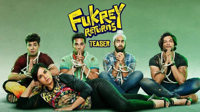 Fukrey Returns' digital marketing