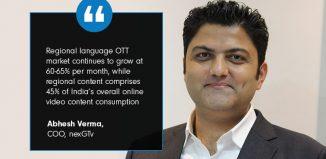 OTT market in India