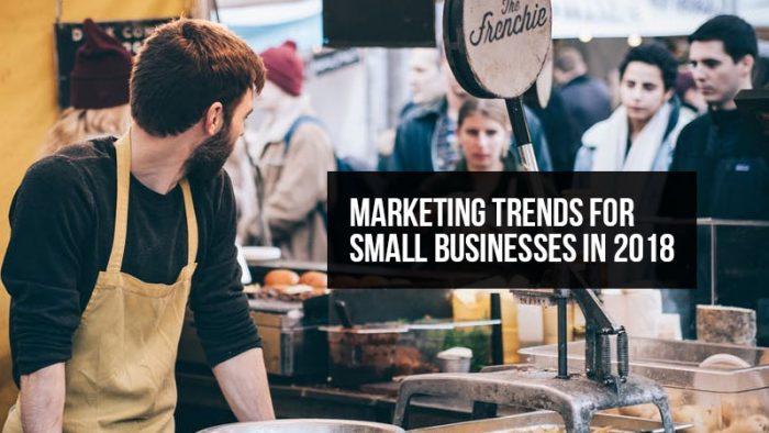 SMB marketing trends 2018