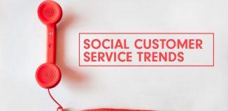 Social customer service trends