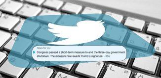 Twitter news alerts
