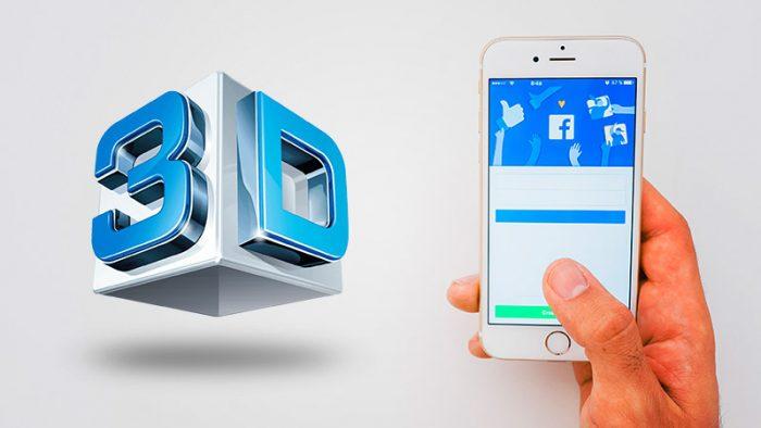 3D Posts on Facebook