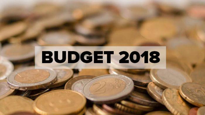 Twitter activity around Budget 2018