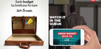 Union Budget 2018 creatives
