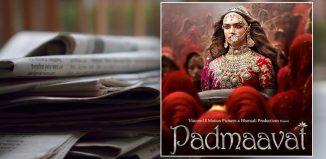 media coverage of Padmaavat