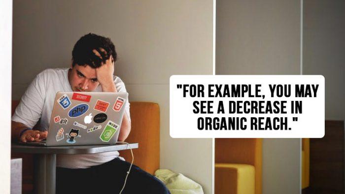 organic reach measurement procedure