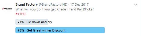 Khade Thand Par Dhoka