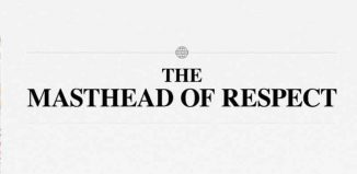 The Masthead Of Respect