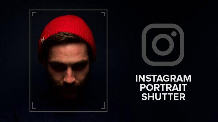 Instagram Portrait Shutter
