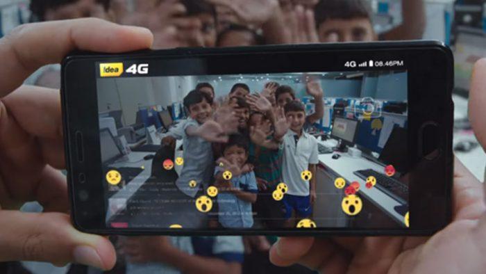 Idea's 4G campaign