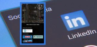 Linkedin video filters