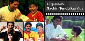 Sachin Tendulkar campaigns