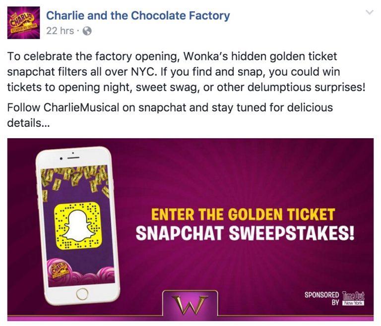 Snapchat campaigns