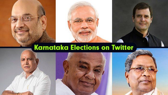 Karnataka Elections Twitter Statistics