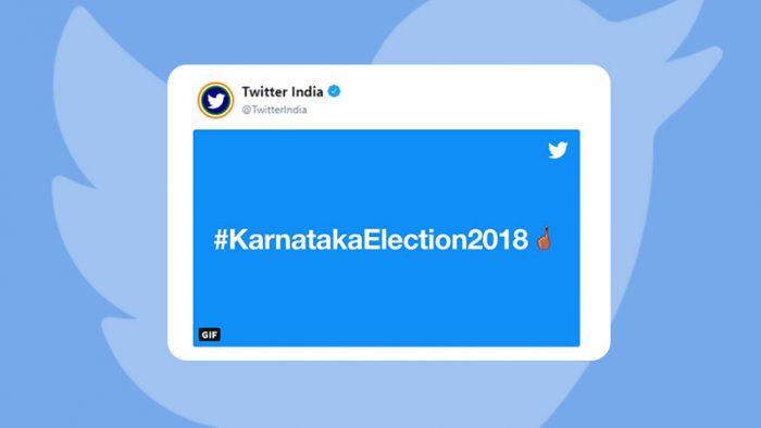 Karnataka elections on Twitter