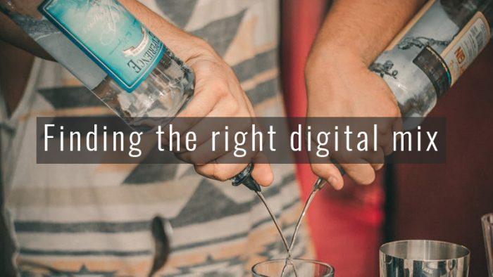digital media mix