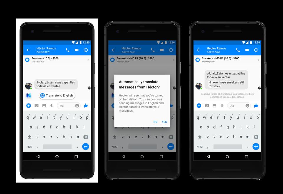Facebook Messenger New Tools