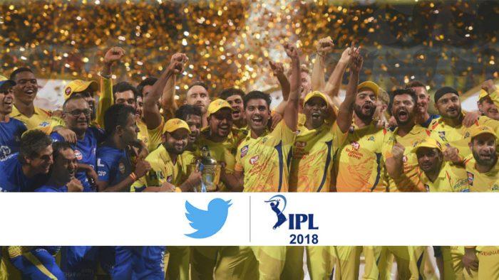 IPL 2018 Twitter Statistics